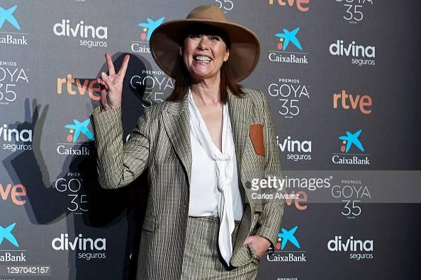 Mabel Lozano attends the 35th Goya Cinema Awards candidates lecture at Academia de Cine in Madrid, Spain More 📸 #Goya2021 👉 https://t.co/wMoDVLEGM8 #MabelLozano https://t.co/8wZ3FpM0bU