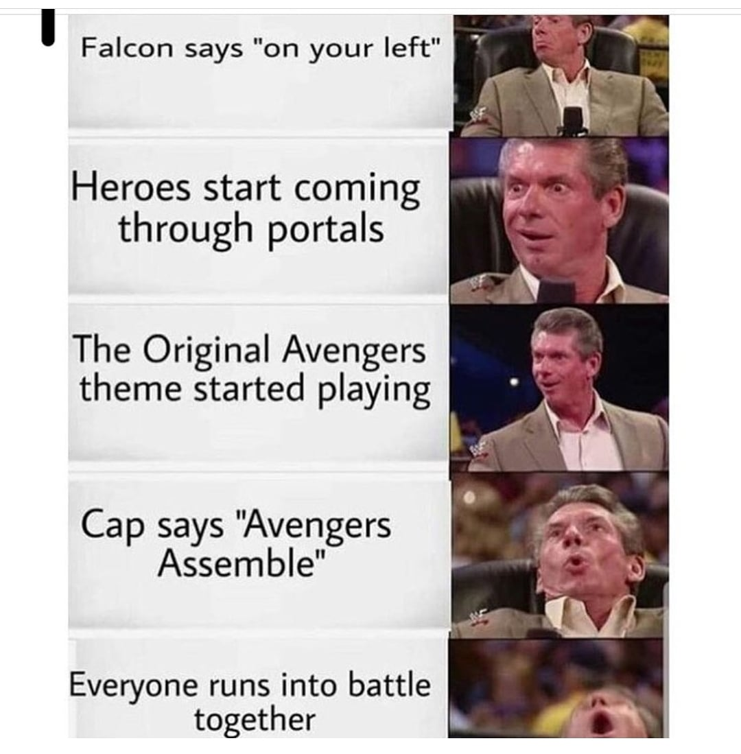 SUCH AN EPIC MOMENT FOR ALL MARVEL FANS!!  Who else was having a fangasm when this moment was going down? ❤ this tweet and retweet!!  #MondayMotivation #marvel #marvelstudios #avengers #avengersendgame #oface