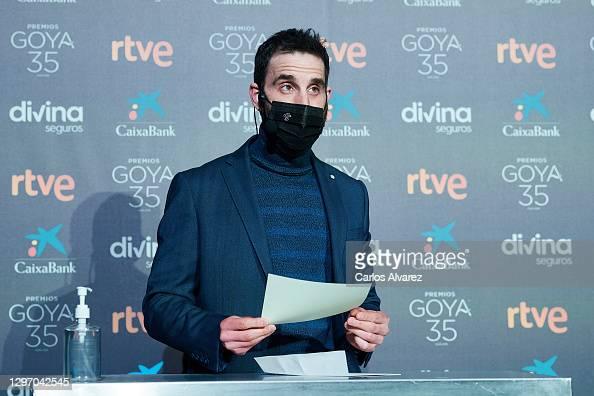 Dani Rovira attends the 35th Goya Cinema Awards candidates lecture at Academia de Cine in Madrid, Spain More 📸 #Goya2021 👉 https://t.co/wMoDVLEGM8 #DaniRovira @DANIROVIRA https://t.co/KrJaouKkAW