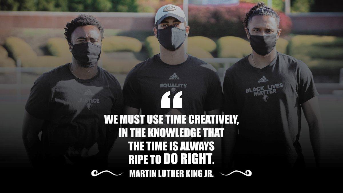 Honor his legacy.   #MLKDay   #ACT