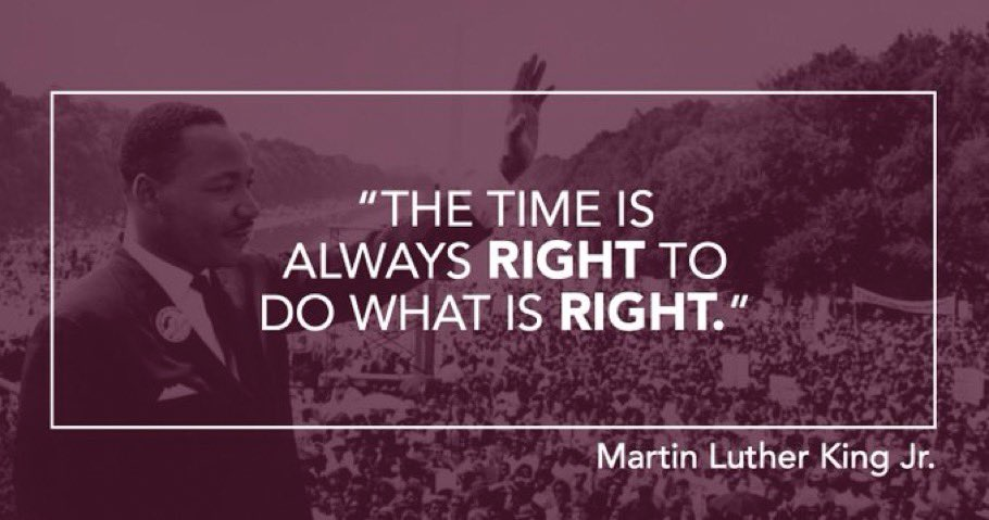 Today we celebrate the civil rights leader's life and honor his legacy. #MLKDay