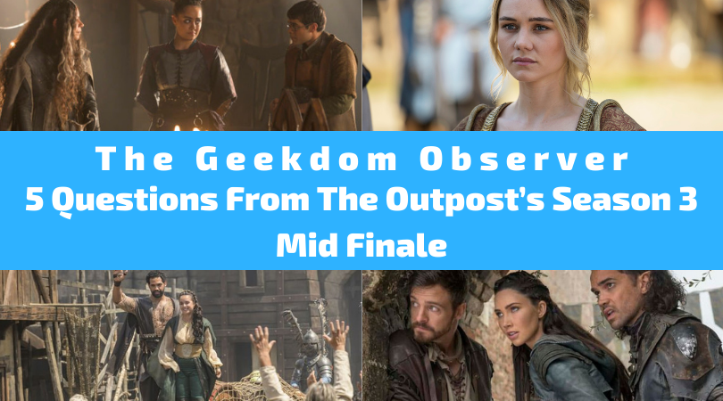 Our thoughts on the mid-season finale of #TheOutpost on The CW