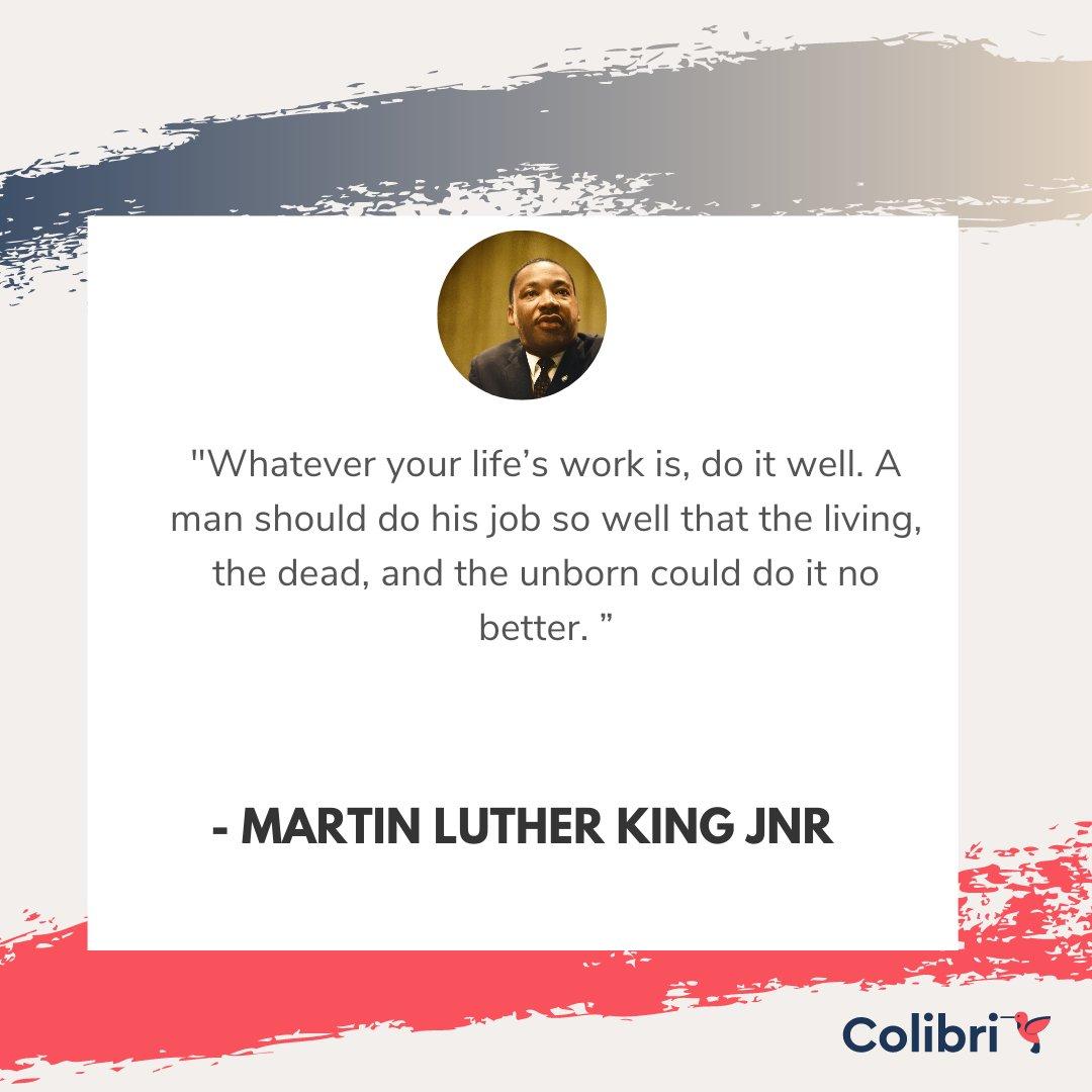#MartinLutherKingJrDay #MartinLutherKingJr   #MondayMotivation #MotivationMonday   Just do it well...
