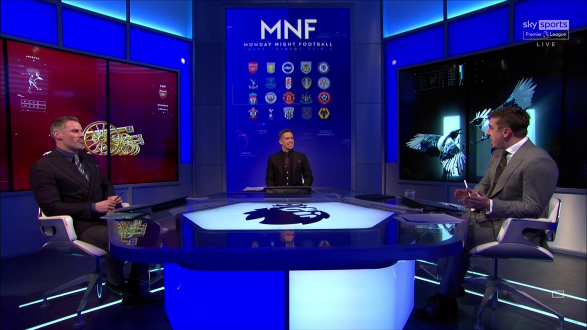 """🗣️ """"Newcastle fans have been served up dire tripe for about ten years""""  @GNev2 and @Carra23 look at Newcastle United's issues on and off the pitch   📺 Watch #MNF live on Sky Sports PL now"""