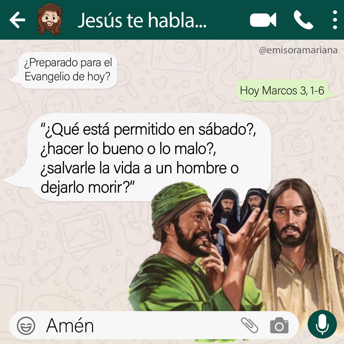 #BuenosDias 🤪¿El testimonio que damos favorece la dignidad humana?🤔🙈  #20Ene #EvangelioDeHoy #FelizAño #FelizMiércoles #20Enero #FelizMiércolesATodos #AñoNuevo #Feliz2021☺️