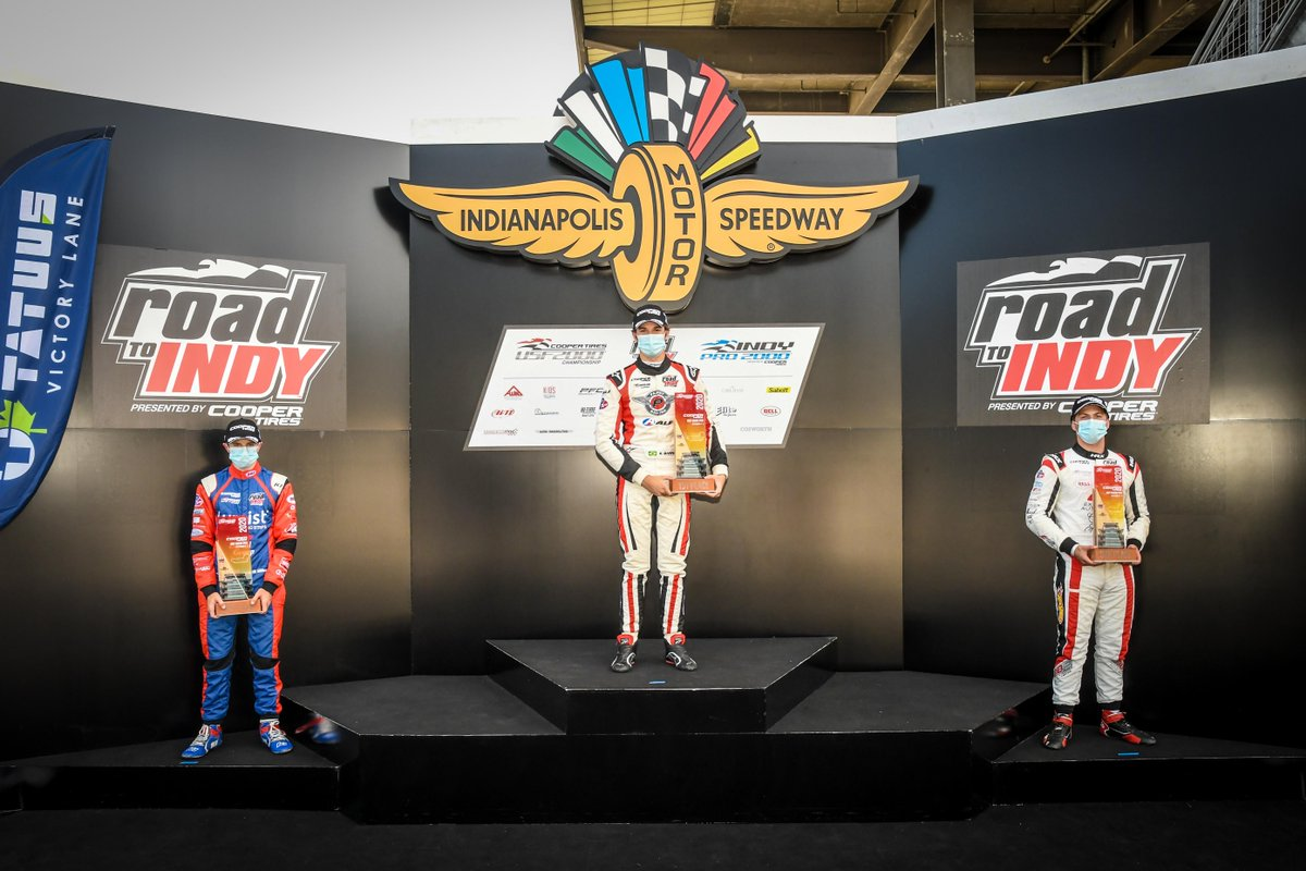#MondayMotivation for 2021 - Standing on the podium at @IMS   #MillerVinatieriMotorsports / #MVM #RoadToIndy / #USF2000 / #IndyPro