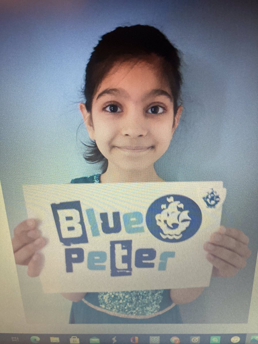 A big well done to Ela who has been awarded a Blue Peter badge for the wonderful Artwork submitted. Ela also joins our Sparkly Jar of Fabulousness for helping her mummy around the house following surgery.  Ela was a very brave and helpful girl. #proud #kindness