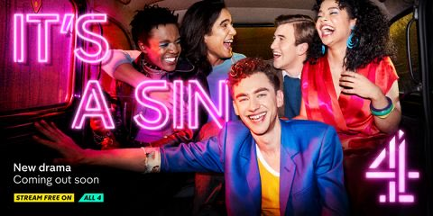 OMG. Have just seen a 30 second clip of It's A Sin on the One Show and welled up. I really feel it will be our story finally told. Better get the gin in. #ItsASin