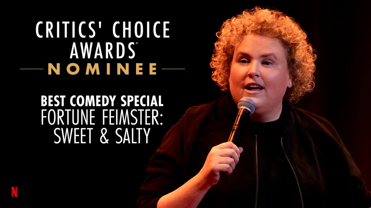 Standing ovation 👏 @fortunefunny is nominated for Best Comedy Special at the @CriticsChoice Awards!