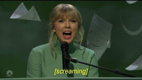 if taylor performs champagne problems i'll d word