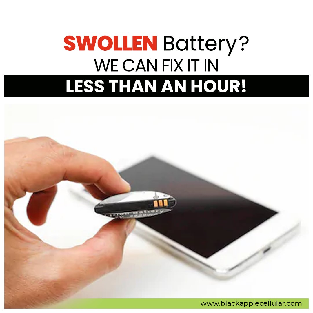 Lithium-ion batteries power our digital lives, but can sometimes fail and cause the dreaded swollen battery. 👉Check  today! . . #phonerepair #iphone #iphonerepair #phone#cellphonerepair #samsung #mobilerepair  #screenrepair #crackedscreen #samsungrepair