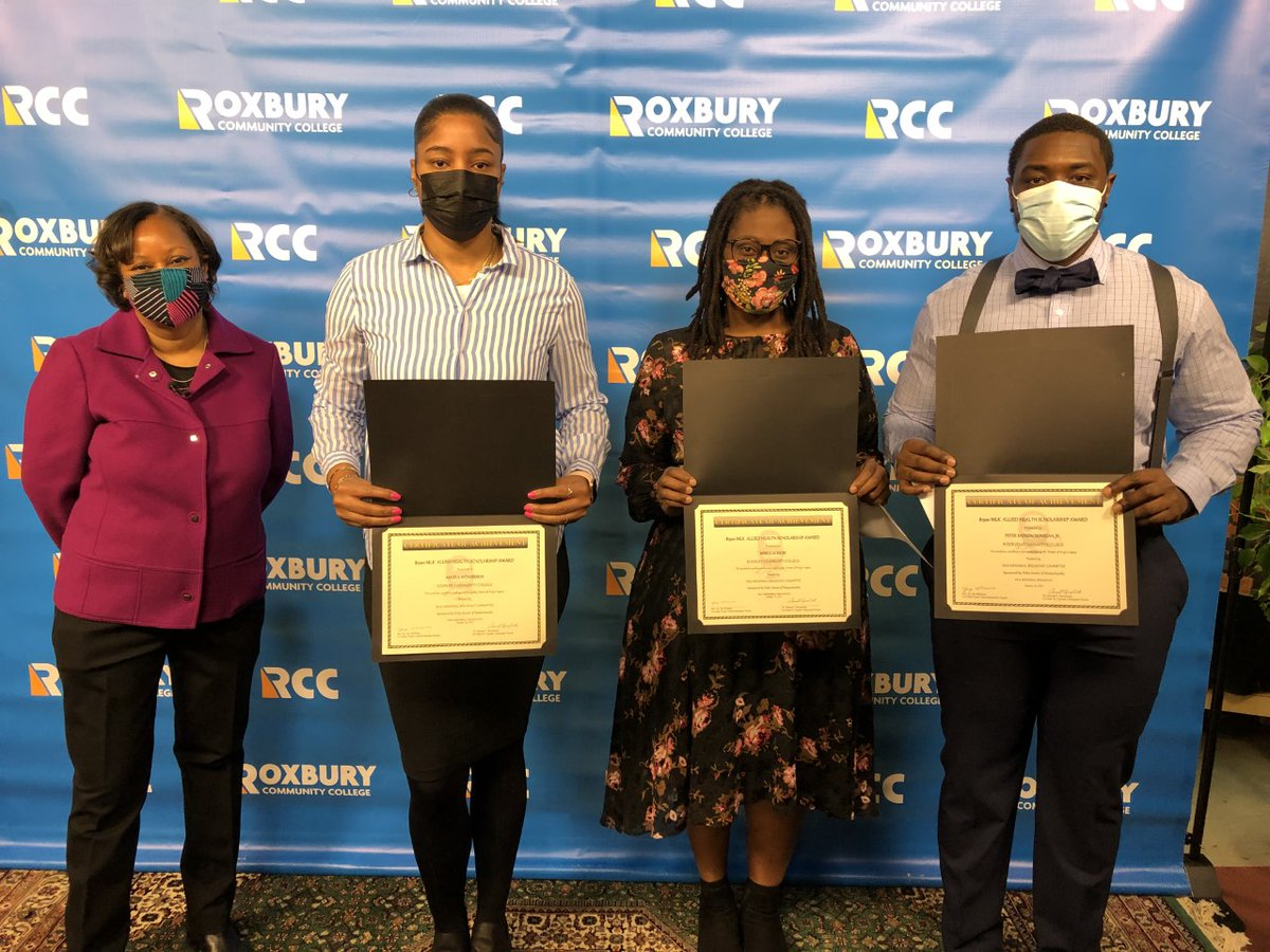 Three RCC students were Delta Dental scholarship recipients at the MLK Jr. Breakfast! Congratulations to Peter Kadeem Donegan Jr., Merlicia Miles, and Angela Richardson.    We look forward to your future successes inside and outside the classroom!!   #MLKDay