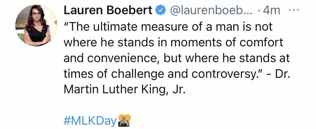 MLK didn't die for our sins. He was murdered. He didn't protest for a day off in January. He protested white supremacy. He didn't create cute quotes. He illustrated a (still) unjust world through words. Today we remember a great man by continuing his legacy. Not by quoting him. https://t.co/UZ80lSk0pF