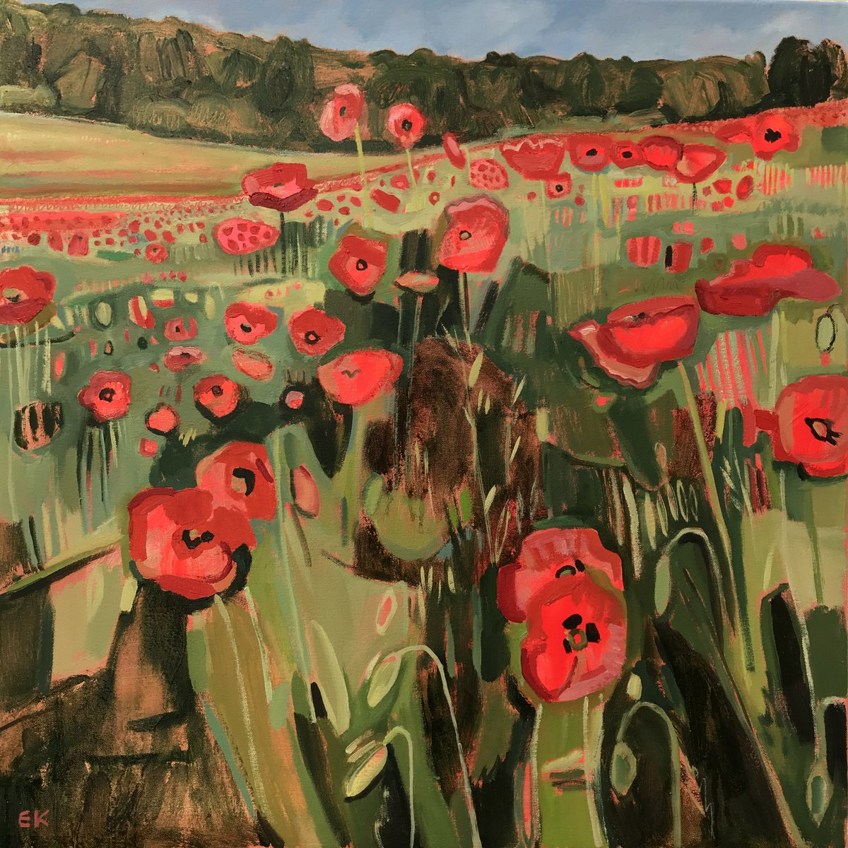 @plantlife's  #GreenRecovery grant will mean more wildflower meadows, road verges and other habitats - good news for bees, butterflies birds and landscape painters like me!