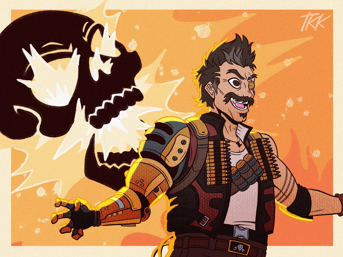 Replying to @TheKittleKat: The traitor with the short fuse~🧨 #ApexLegends #Fuse