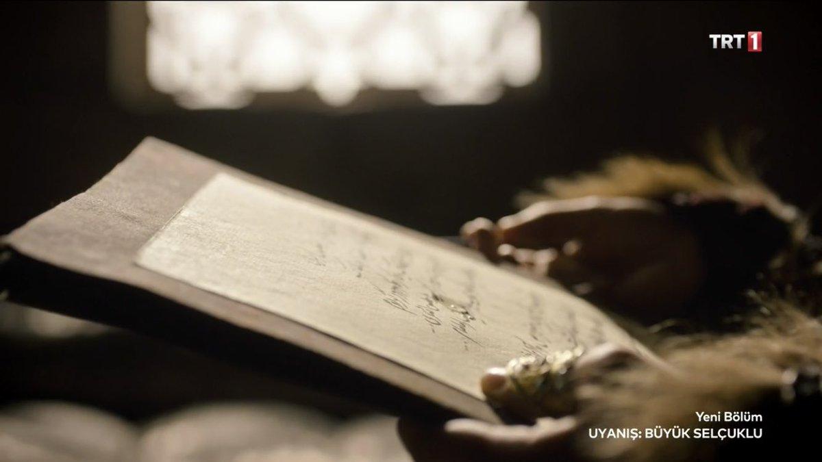 Meğersem sevdiceğine kaçır beni mektubu yazıyormuş Turna kuşumuz 💙  #UyanışGünü
