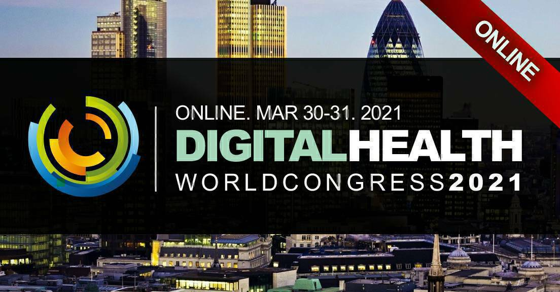 Digital Health World Congress 2021  ONLINE! March 30-31 Book Now. #iot #ai   #pharma #healthcare #Pharmaceutical #bigdata #LifeSciences #biotech #healthcare #health #ai #internetofthings #google #apple #samsung #ibm #cisco