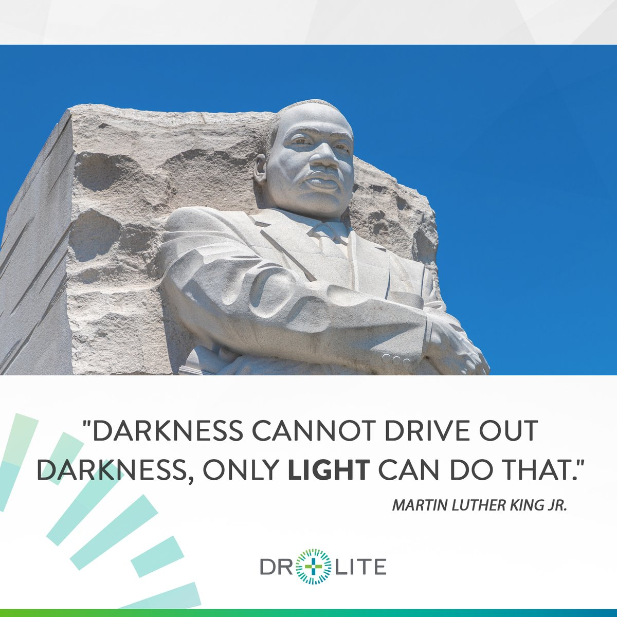 Today is Martin Luther King, Jr. Day. A day when we remember the importance of light over darkness, love over hate, standing up for the rights of the marginalized, and dreaming of a better future 🕊  #mlkjr #mlkday #mlkquotes #loveoverhate #speakup #ihaveadream #mlkday2021