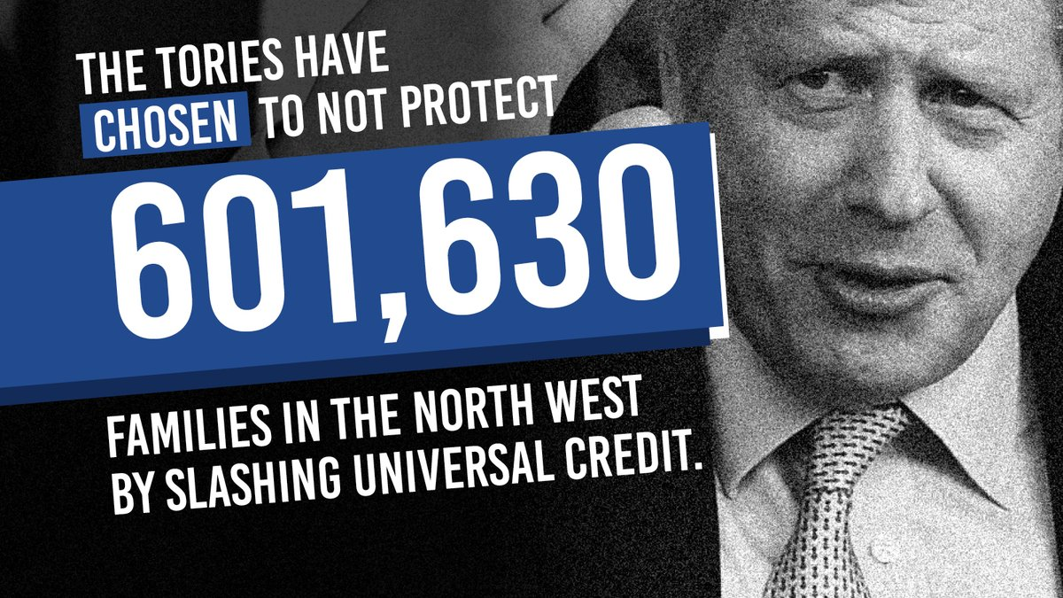 BREAKING: The Conservatives have chosen to cut support for families in the middle of a pandemic by slashing Universal Credit. The UK has had the worst recession of any major economy on Boris Johnson's watch – now he is making families pay the price. #CancelTheCut