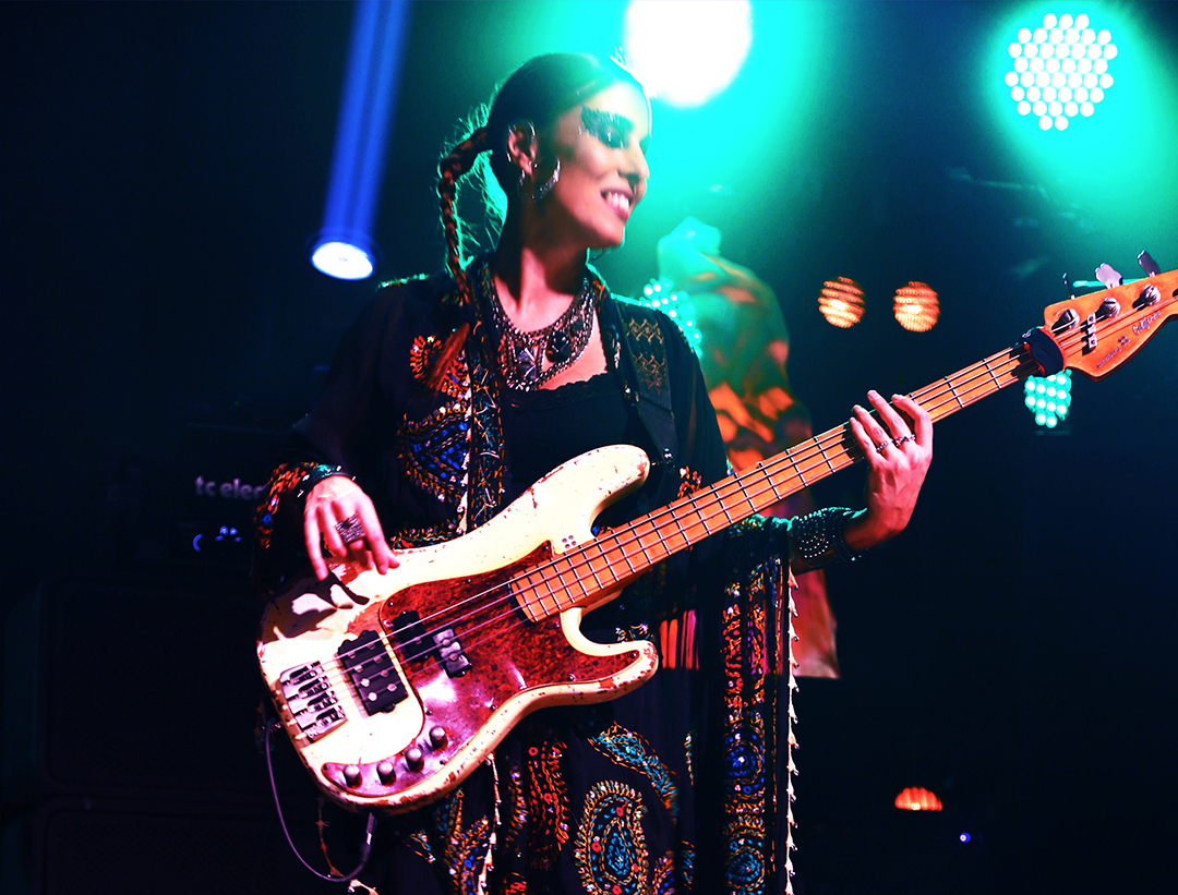 And in the fall of 2014, 3RDEYEGIRL would release #PLECTRUMELECTRUM with Prince and celebrate with a fiery performance on @NBCSNL.
