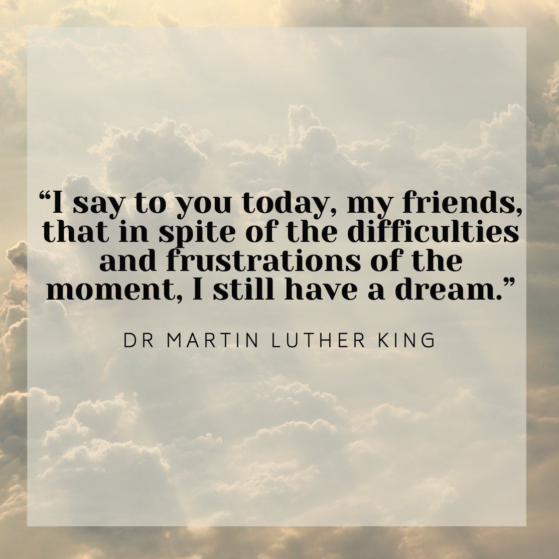 The brilliant Dr. Martin Luther King, Jr. Instead of wishing, which is passive, he dreamt, which is active.   Today we celebrate the life of a great leader and great visionary.  #leadership #MLKday #DrMartinLutherKingJr #dreams #quote