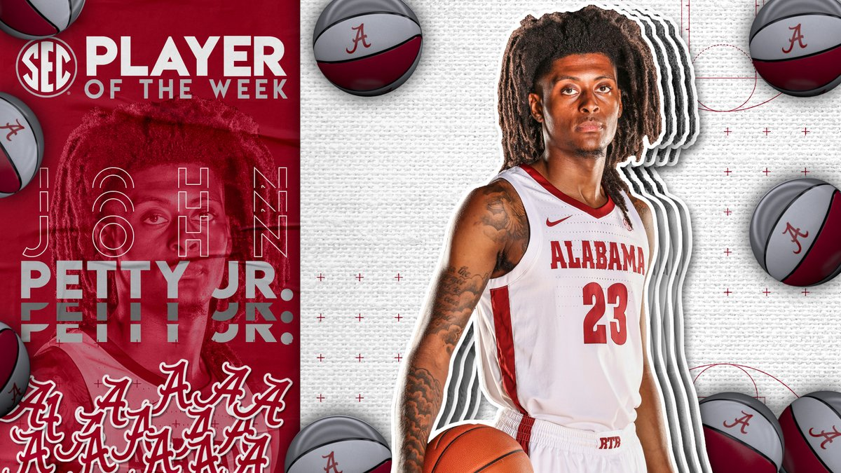 #SECMBB Player of the Week: @jpetty2324 Full release » bit.ly/2Nd0Qvz.