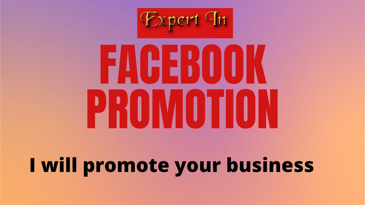 I will Facebook promotion your business to a large audience in USA    # #competition. #influencer. #influencermarketing. #fridayfeeling. #MondayMotivation. #tbt. #wcw.
