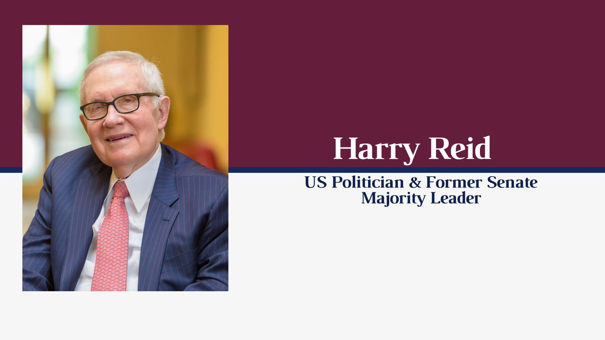 Our first speaker event of Hilary Term with US Politician Harry Reid starts at 8pm! Make sure to follow for highlights from the event!