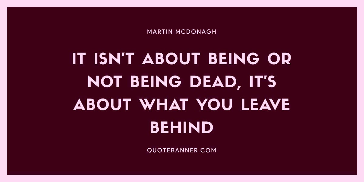 """I thought """"why not one more #MondayMotivation """"?   And well....it's how you decide to leave your legacy behind and how people will remember who you were.  #quotes"""