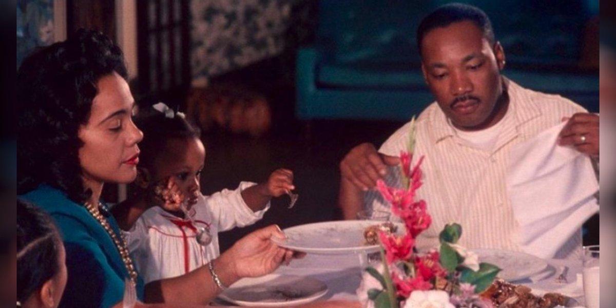 #Repost ~ @naomiosaka ~ #MLKDay #CorettaScottKing