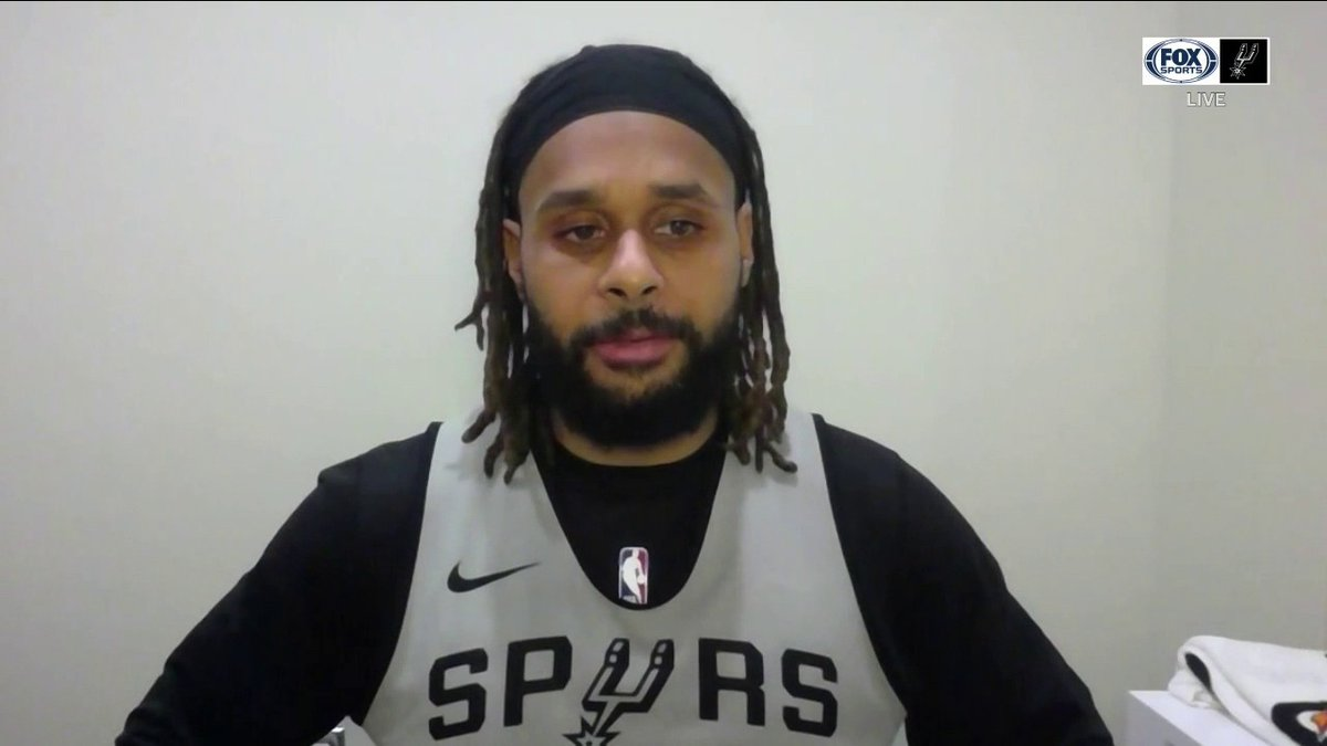 """""""It's up to us to be able to seize those moments.""""   #Spurs G Patty Mills on what #MLKDay means to him.   @spurs 