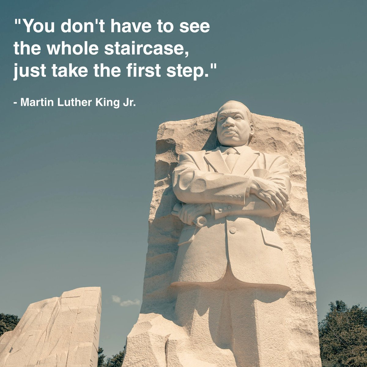 Today we honor Martin Luther King Jr. for advancing civil rights and social justice, as well as being a source of inspiration for many. #MLKjr #MLKday #MondayMotivation