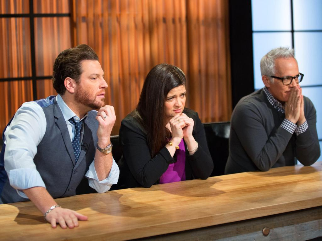 When you see someone add salt to their cake mix thinking it's sugar. 😬 Catch up on #Chopped now.