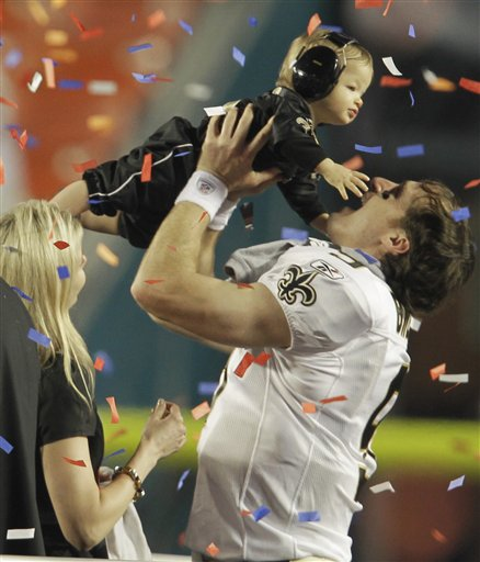 Replying to @FOX8NOLA: The moment Drew Brees became immortal: