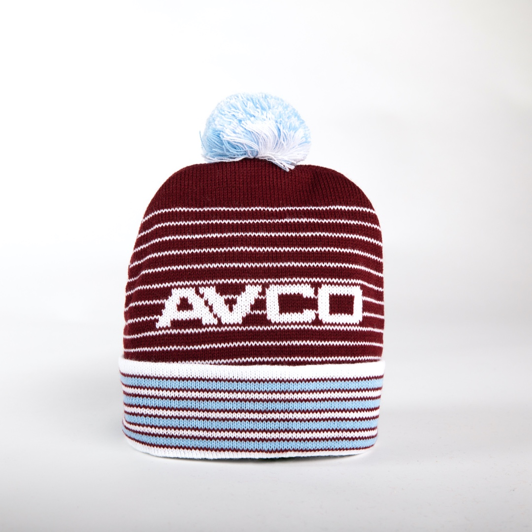 ⚒️ Bobble Hats for Hammers!    Celebrate 125 Years of #WHUFC with a British made Bobble Hat!  @whufcphotos