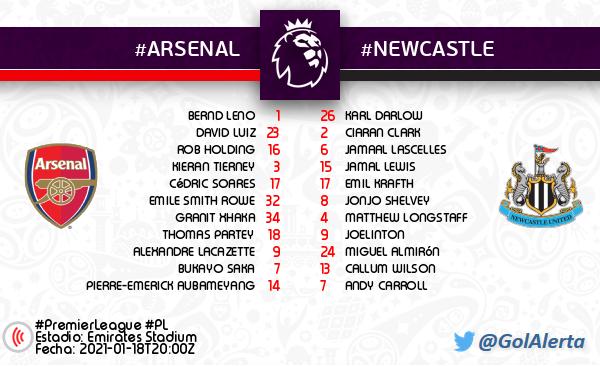 🏴 #PremierLeague #PL ▶️ Arranca el partido #Arsenal 🆚 #Newcastle #ARSNEW