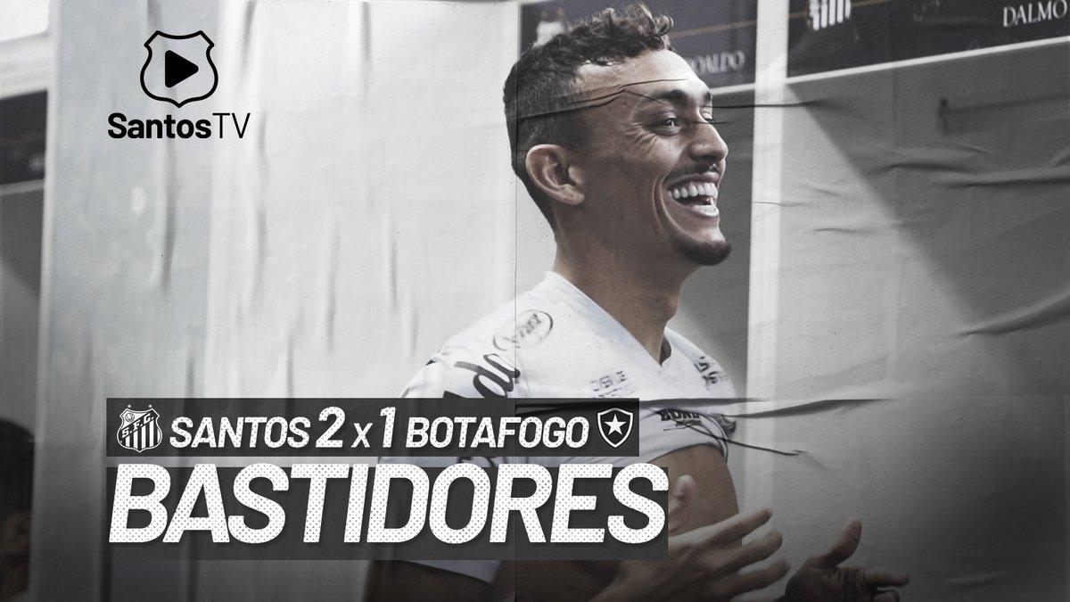 É o Peixão no Brasileirão!  Os bastidores da vitória contra o Botafogo já estão no ar, hein!?  Mais três pontos na tabela, seguimos! 💪⚪️⚫️  Assista ao vídeo completo: