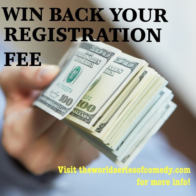 If you register by Feb 7th and select the option for BOTH Live Satellites and Online Showcases you will be entered into a drawing to get the FULL $100 registration fee back!  Visit  for more details.  #standup #comedy #festival #wsoc2021