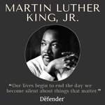 Image for the Tweet beginning: Happy Martin Luther King, Jr.