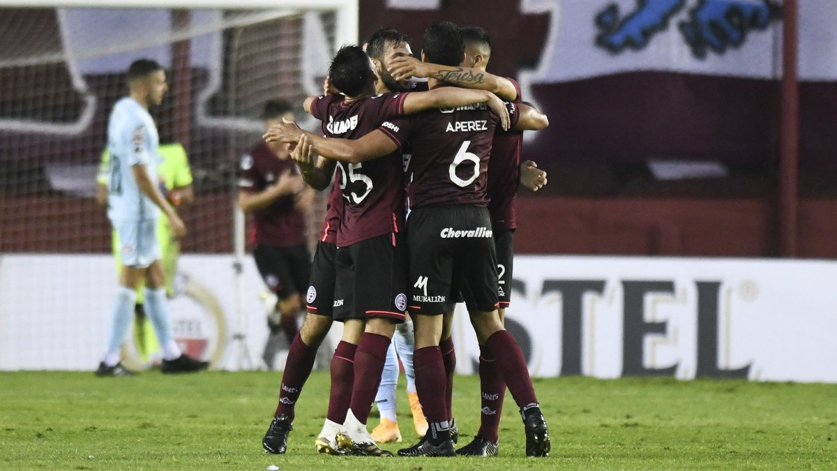 El @clublanus obtuvo cuatro triunfos y un empate en sus últimos cinco partidos de CONMEBOL @Sudamericana  2020, con un resultado global de 13-3 en estos cinco juegos   ¡Mira todos los goles del Granate! #LaGranConquista 🏆⭐️  🔗