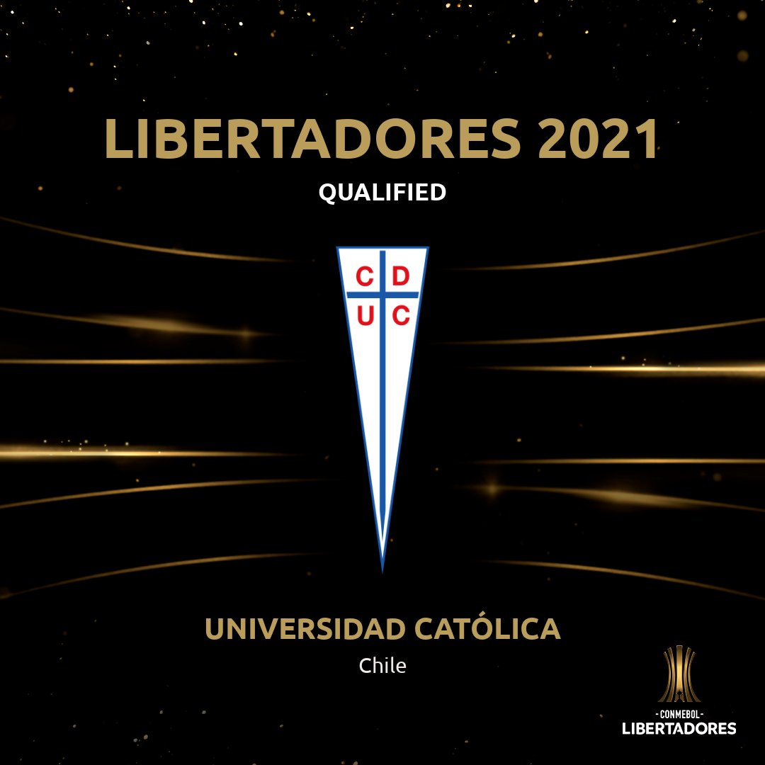 🇨🇱🎉🏆 @Cruzados have qualified for the 2⃣0⃣2⃣1⃣ #Libertadores, their 3⃣rd consecutive appearance in the competition!