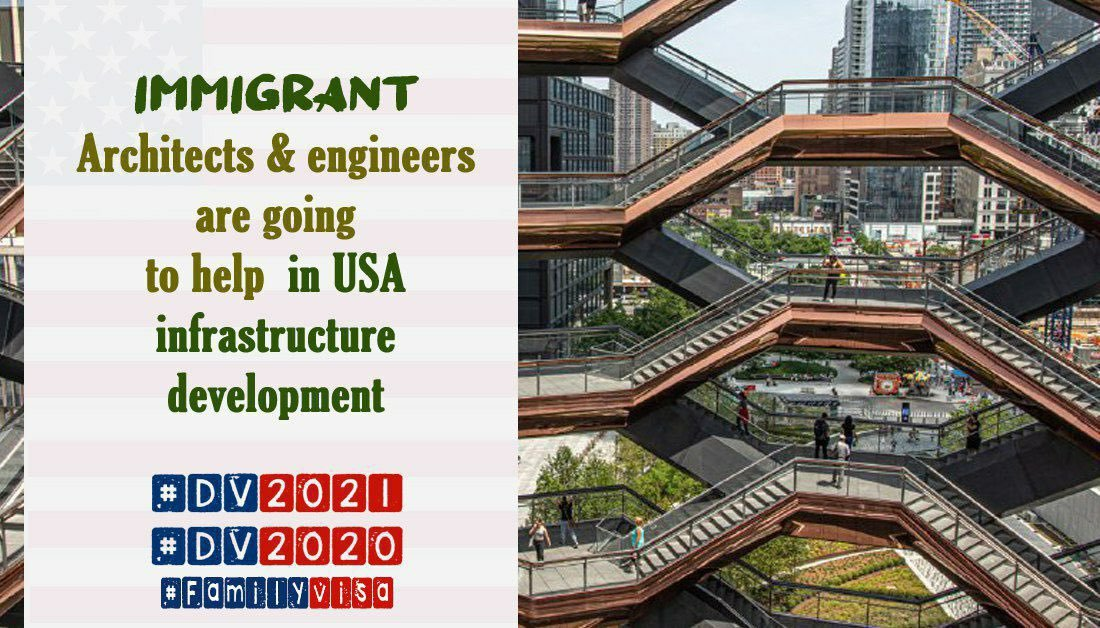 According to a report from Indeed, which used (ACS),19% of Architects and Engineers in the U.S. today are Immigrants.  #DV2021 #DV2020 #FamilyVisa #NoBan #NationalChampionship #TheBachelor #CFBPlayoff