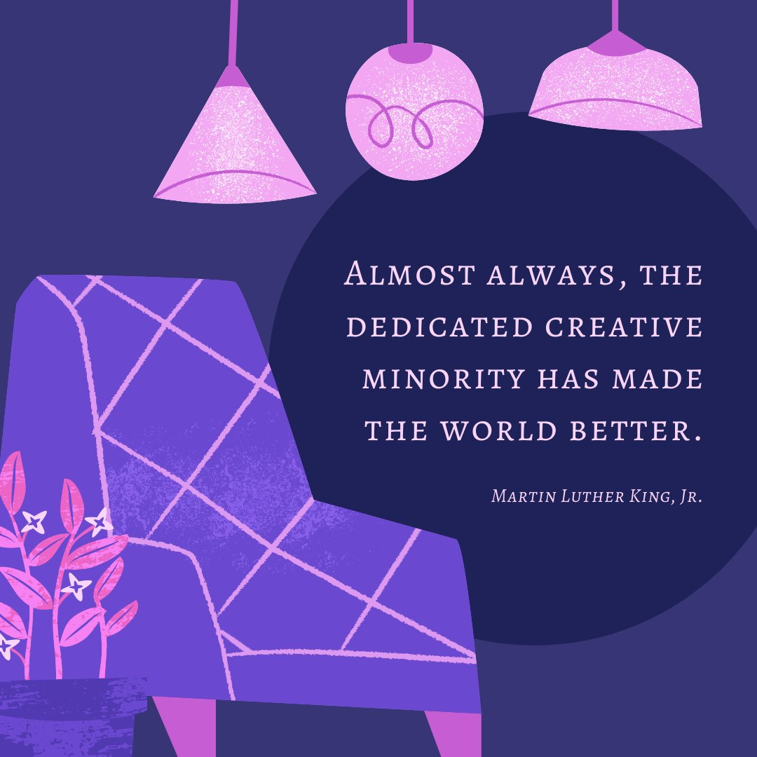 Celebrating #MLKDay2021 with words of wisdom. #MondayMotivation