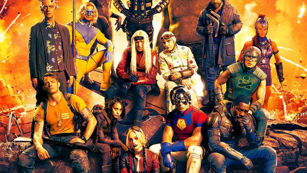 """James Gunn says 'THE SUICIDE SQUAD' is """"a hair's-breadth from being completely finished.""""  (Source: @JamesGunn)"""