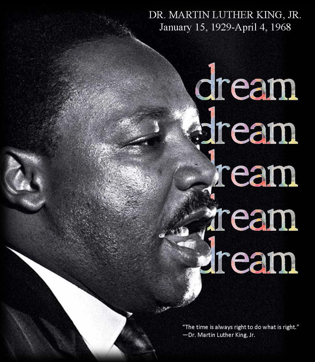 """""""Life's most persistent and urgent question is, """"What are you doing for others?"""" –Dr. Martin Luther King Jr. #MLKDay"""