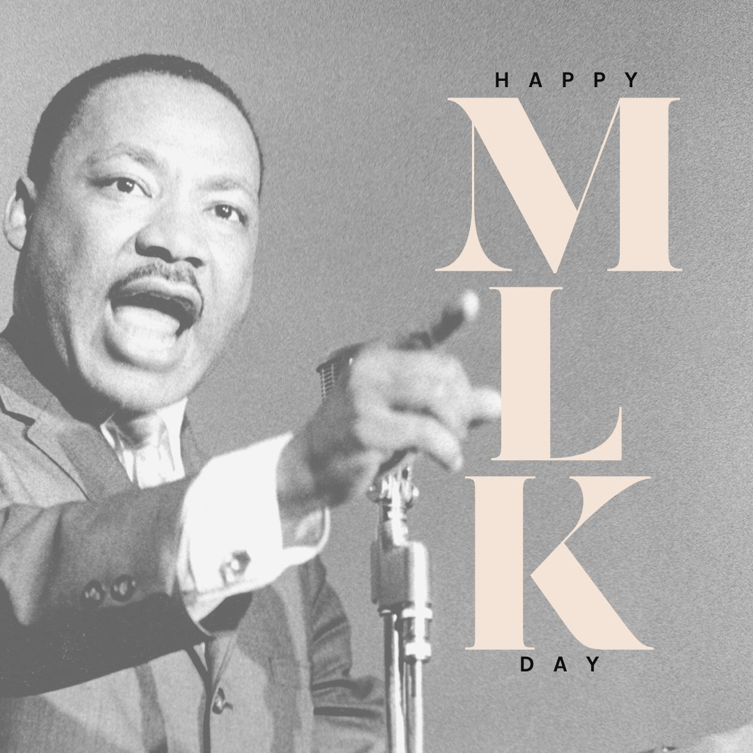 Some use this day for a day of service, others may use this day as a day of reflection. No matter how you choose to recognize #MLKDay, try using the ideals and values of the great Martin Luther King Jr. of love, peace and equality for all mankind!