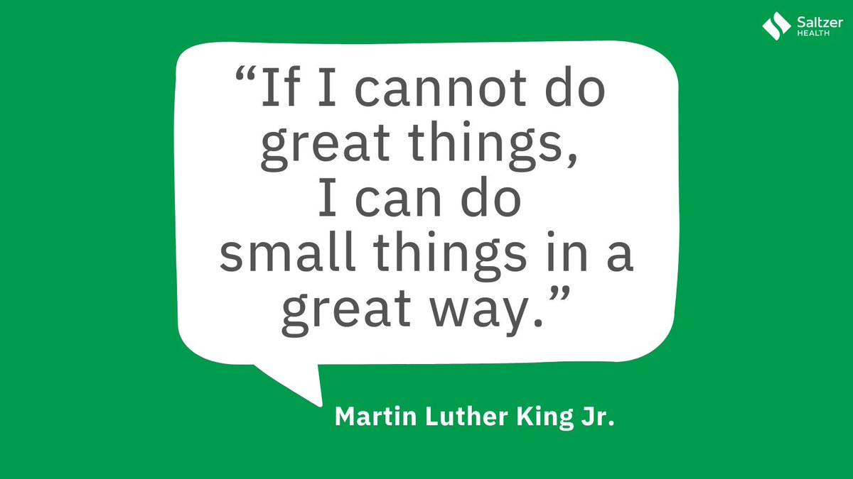 Simple but powerful words to remember as we honor and celebrate #MLKDay today. #MLKJR