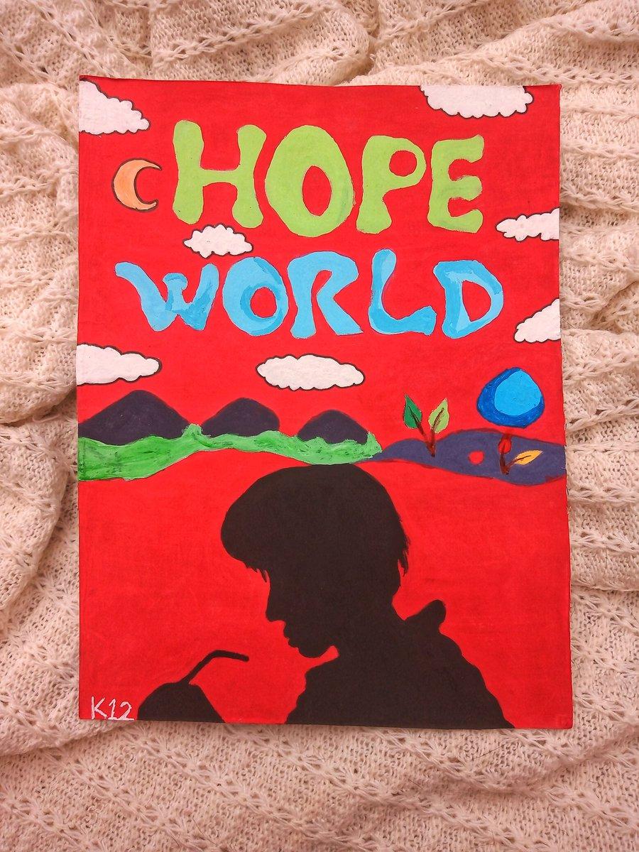 Hope world  @BTS_twt #HopeWorld #JHOPE #방탄소년단 #fanart #JungHoseok #BTS #BTS_ARMY #BTS_BE