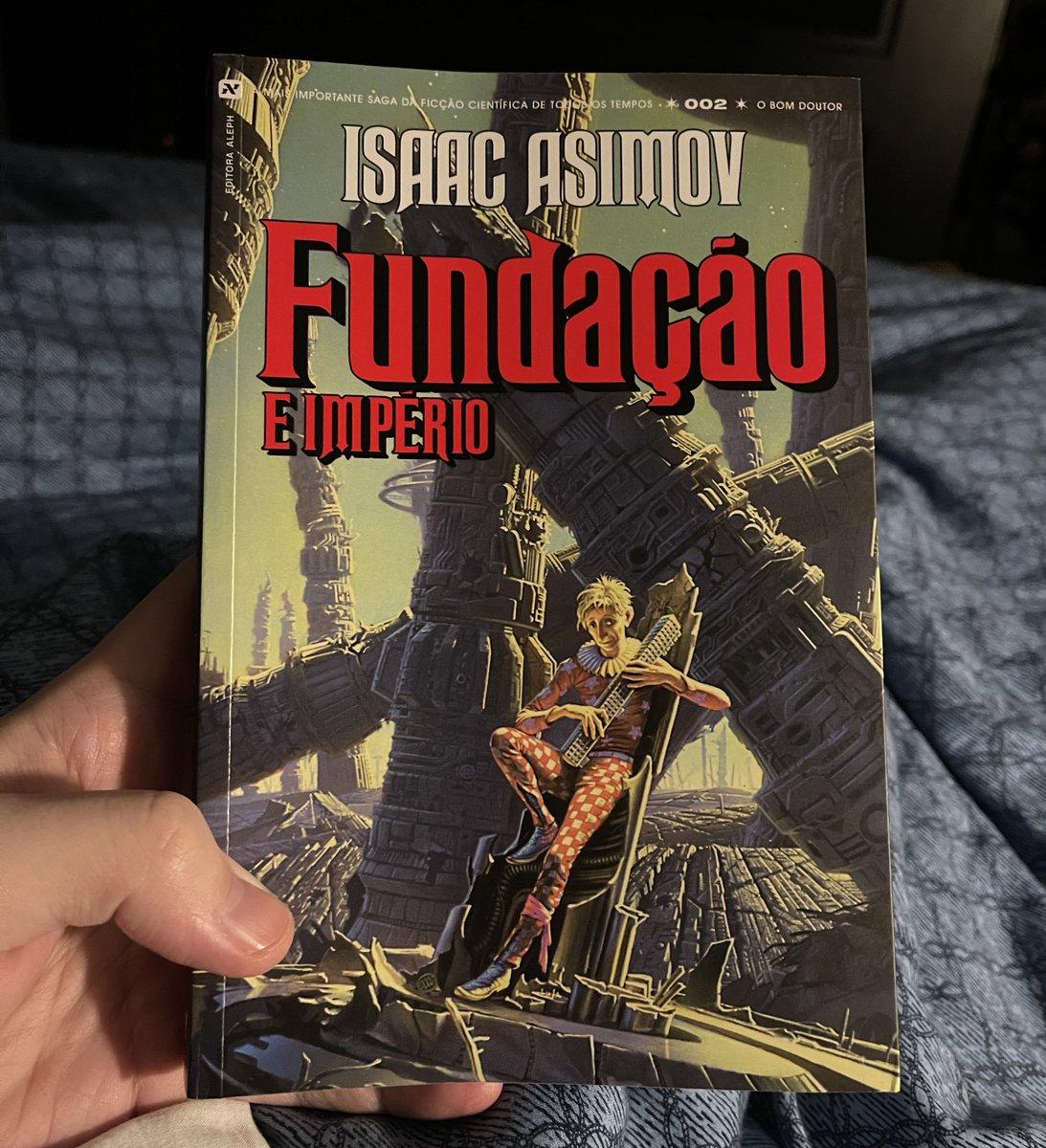 Terminei o 2° livro da trilogia da Fundação, do Asimov.  Genial demais!