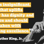 Image for the Tweet beginning: #MLKDay